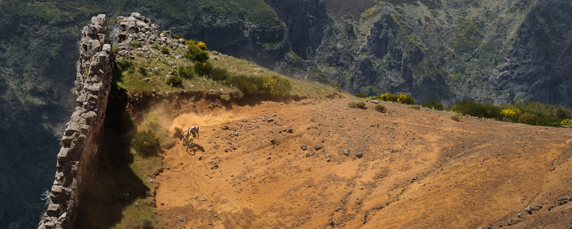 EWS Travel Madeira - shredding dusty turns high in the mountains