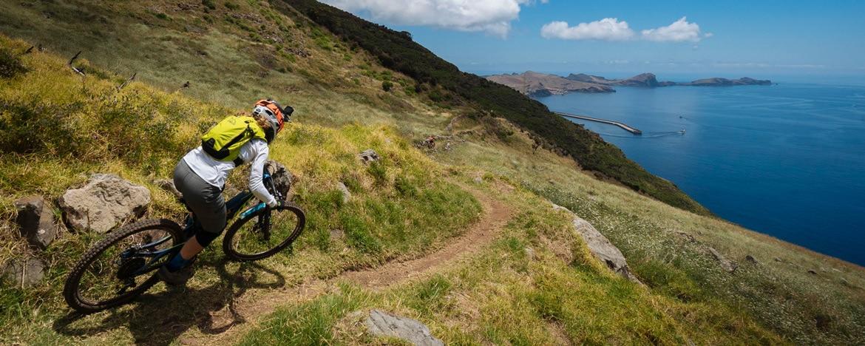 EWS Travel Madeira - dropping towards Machico