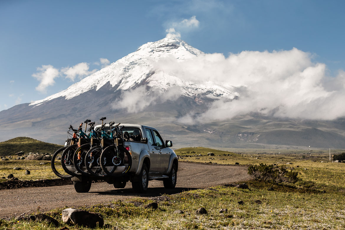 Untouched trails on our Mountain biking Ecuador holiday