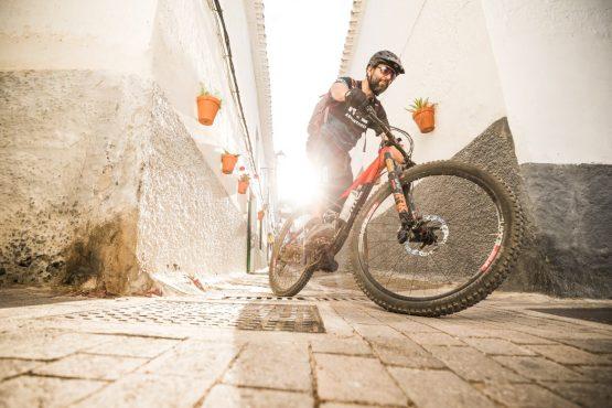 Cali our guide of a Mountain bike tour Spain