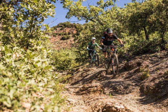 Follow the leader - Mountain bike tour Spain