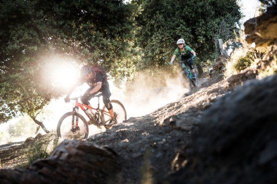 Dusty days on a Mountain bike tour Spain