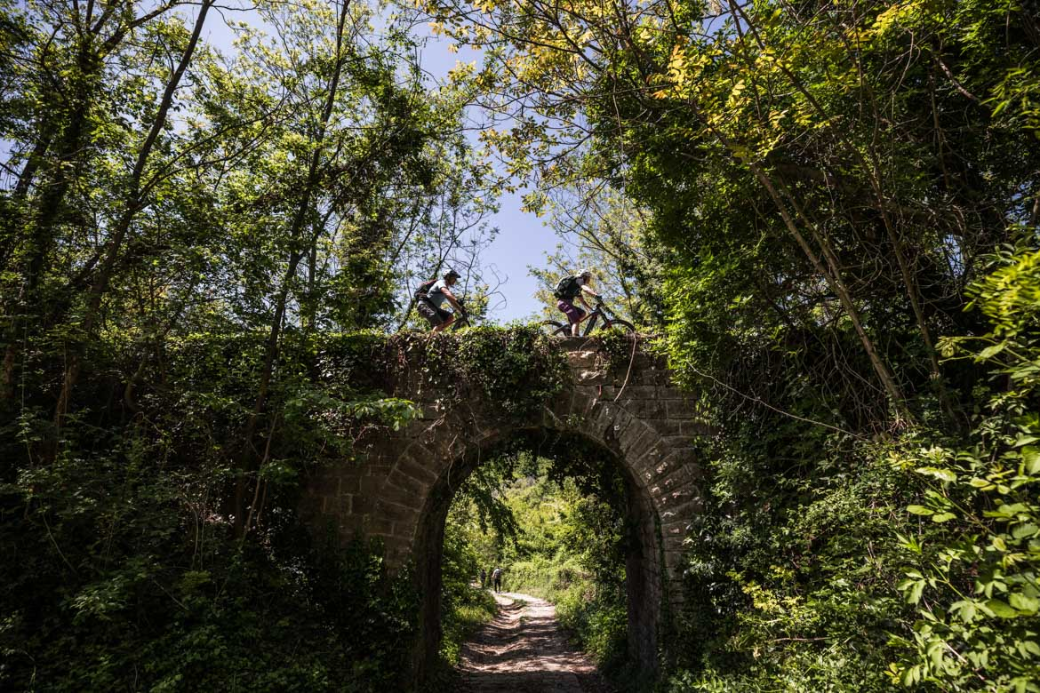 E-MTB tour of Croatia historic trails
