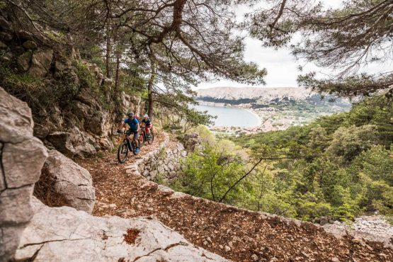 E-MTB tour of Croatia historic single tracks