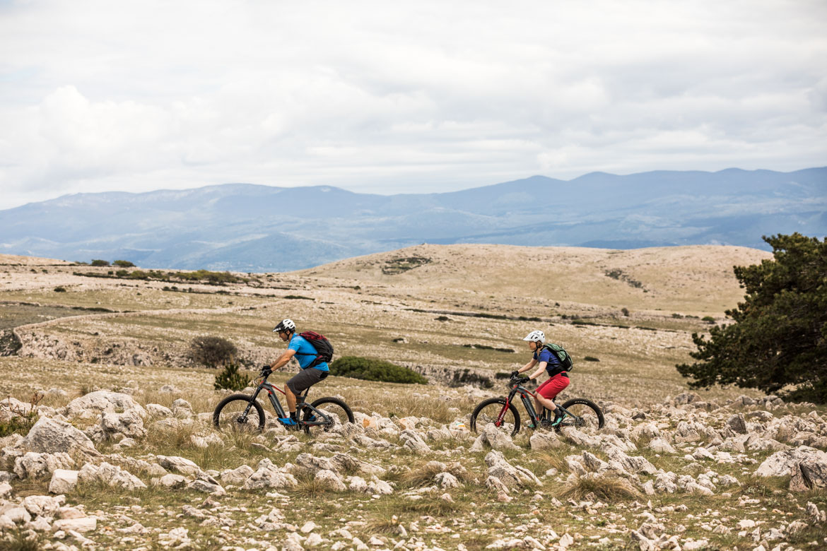 E-MTB tour of Croatia and its islands