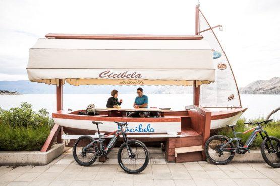 E-MTB tour of Croatia sunshine and coffee
