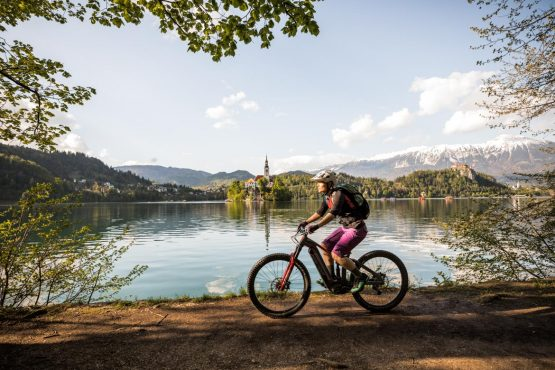 E-MTB tour of Slovenia Lake Bled