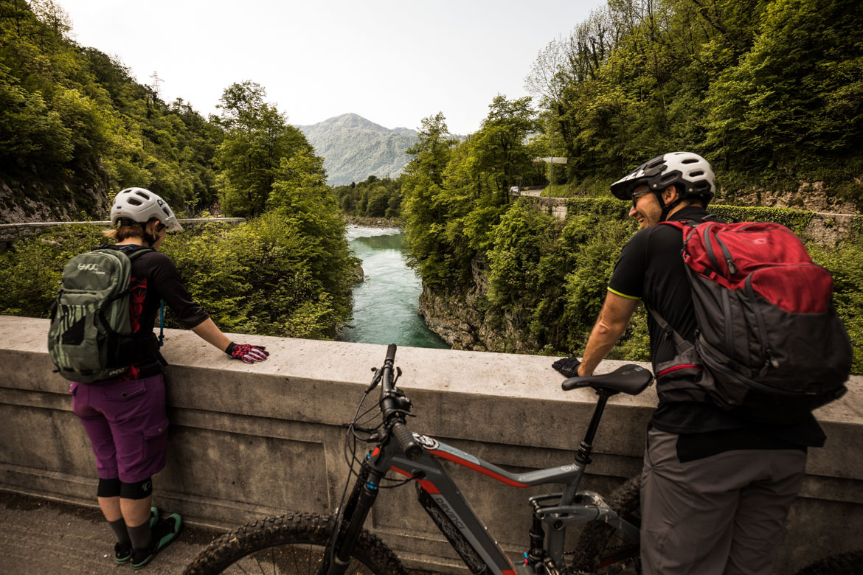 E-MTB tour of Slovenia Soča Valley