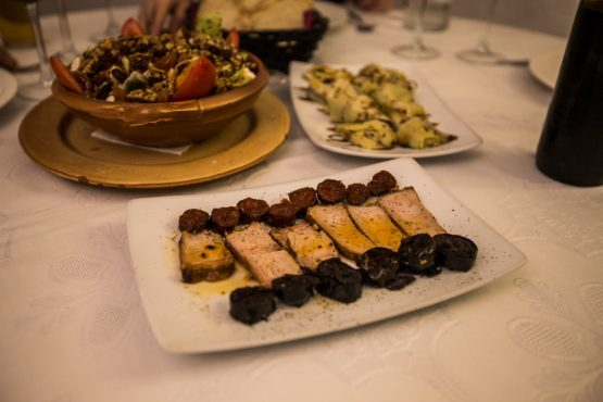 Local delicacies on our E-MTB tour of Spain