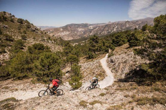 E-MTB tour of Spain with long climbs