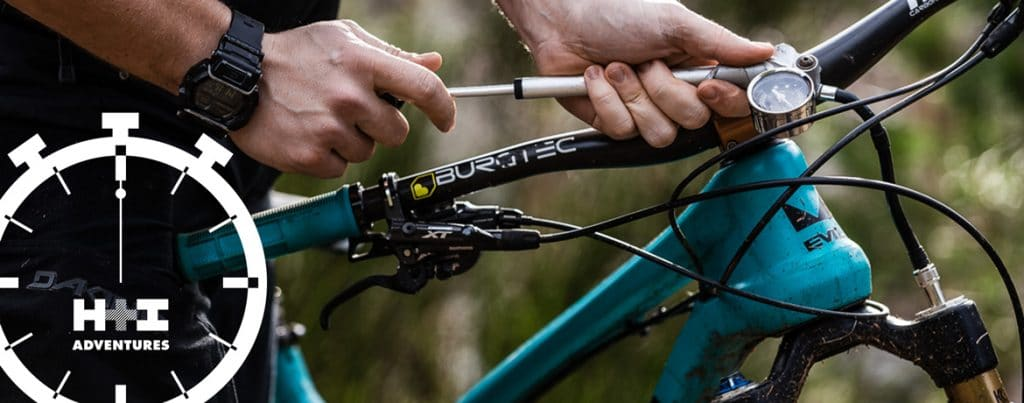 Putting air in a FOX 36 fork in this MTBminute how to set up mountain bike suspension