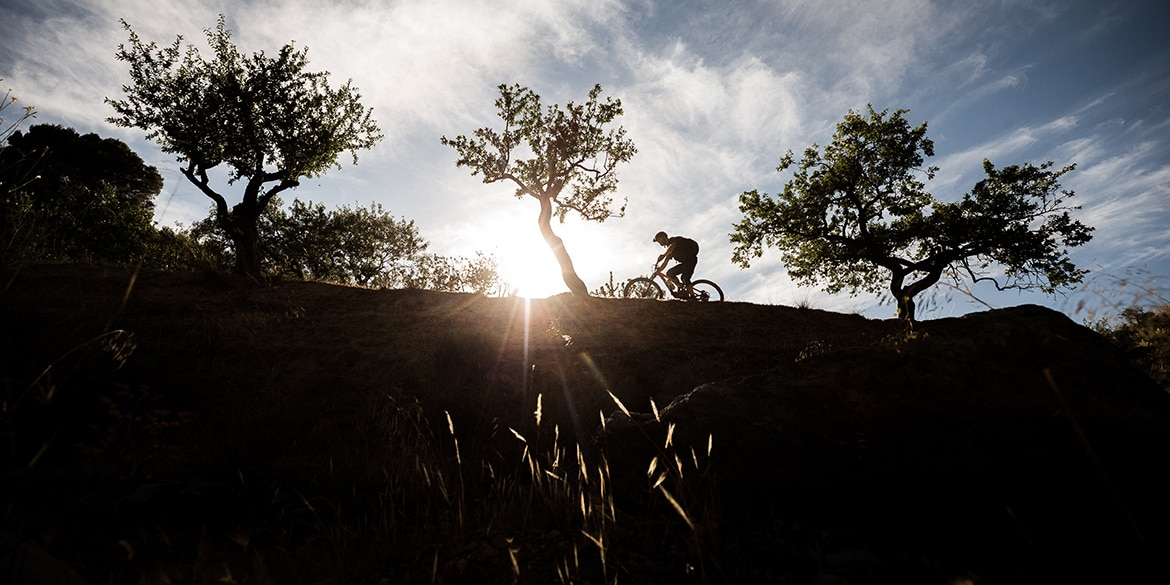 mountain bike tours - international MTB vacations with H+I Adventures. Spanish Silhouettes