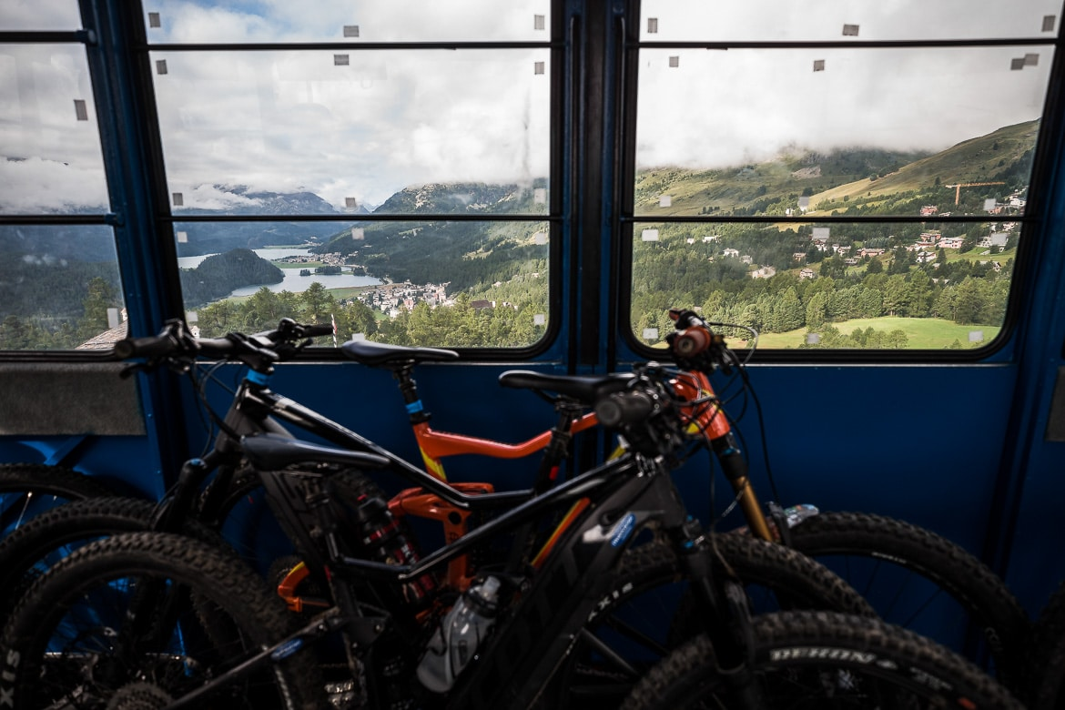 The only way is up on a E-MTB Tour In Switzerland