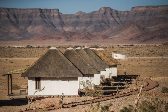 Accomodation on a mountain bike safari tour Namibia