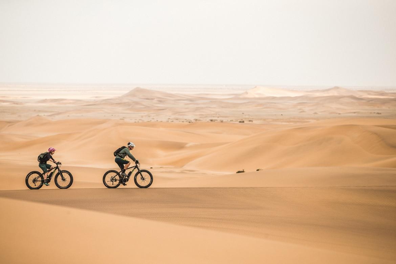 Mountain Bike Tours Namibia E-MTB in Photos