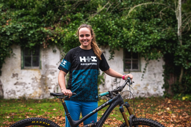 Ella Wright, mountain bike guide Cairngorms Adventure Scotland