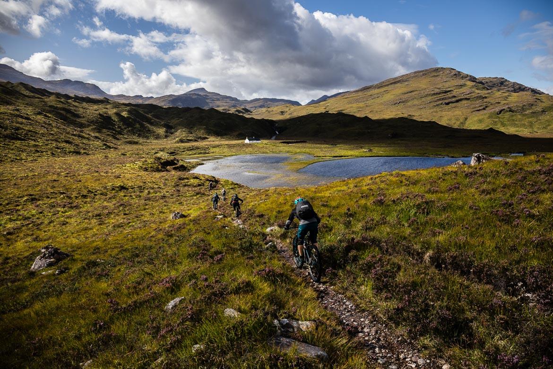 Sustainabke trails in Torridon